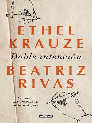 cover image of Doble intención
