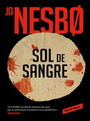 cover image of Sol de sangre (Sicarios de Oslo 2)