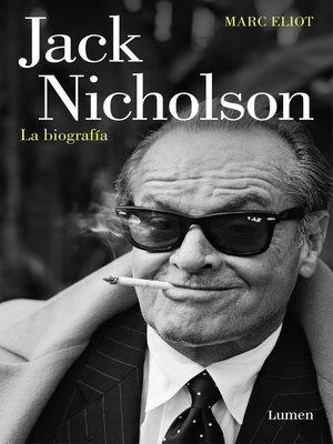 cover image of Jack Nicholson, la biografía