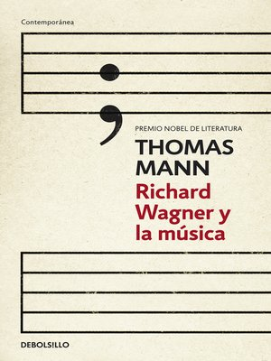 cover image of Richard Wagner y la música