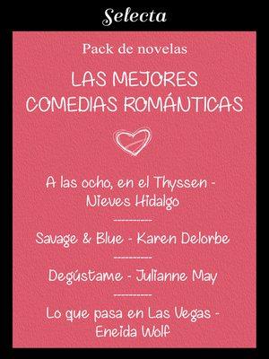 cover image of Mejores comedias románticas (Pack con