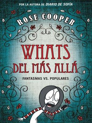 cover image of Whats del más allá