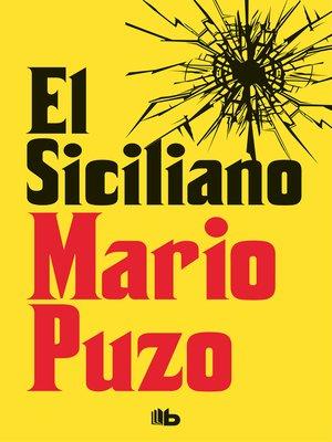 cover image of El siciliano