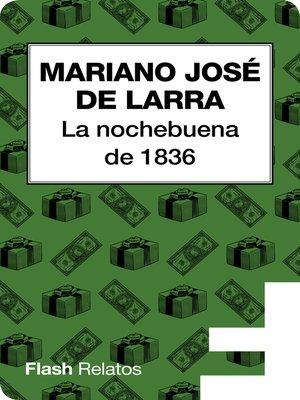 cover image of La nochebuena en 1836