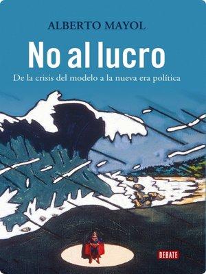 cover image of No al lucro
