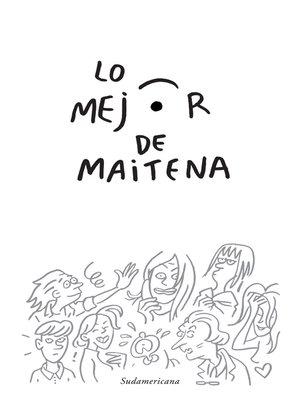 cover image of Lo mejor de Maitena