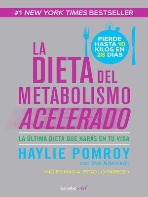 cover image of La dieta del metabolismo acelerado (Colección Vital)