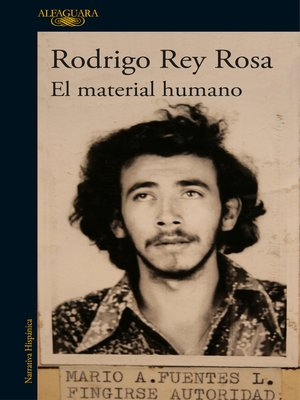 cover image of El material humano