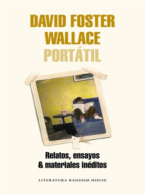 cover image of David Foster Wallace Portátil