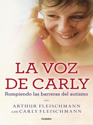cover image of La voz de Carly (e-original)