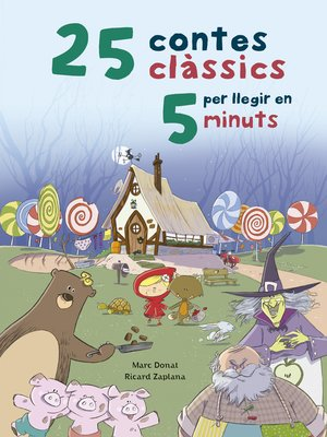 cover image of 25 contes clàssics per llegir en 5 minuts