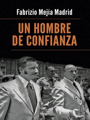 cover image of Un hombre de confianza