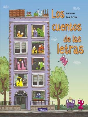 cover image of Los cuentos de las letras