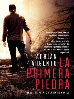 cover image of La primera piedra