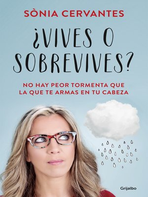 cover image of ¿Vives o sobrevives?
