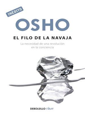 cover image of El filo de la navaja (OSHO habla de tú a tú)