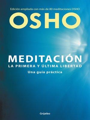 cover image of Meditación (Edición ampliada con más de 80 meditaciones OSHO)