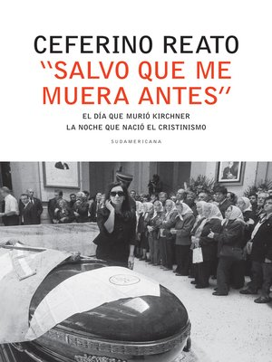 """cover image of """"Salvo que me muera antes"""""""