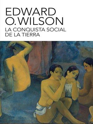 cover image of La conquista social de la Tierra