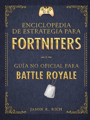 cover image of Enciclopedia de estrategia para fortniters