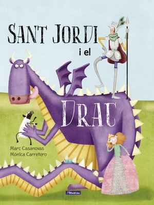 cover image of Sant Jordi i el drac