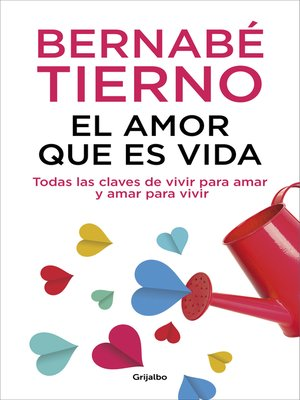 cover image of El amor que es vida
