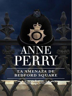 cover image of La amenaza de Bedford Square