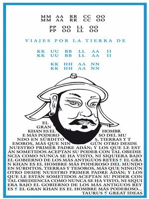 cover image of Viajes por la tierra del Kublai Khan (Serie Great Ideas 4)