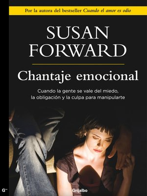 cover image of Chantaje emocional