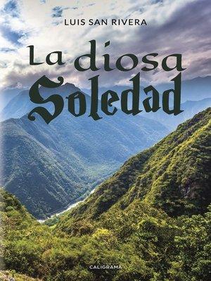 cover image of La diosa Soledad