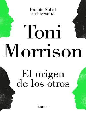 cover image of El origen de los otros