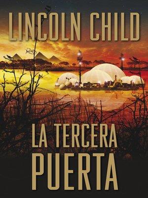 cover image of La tercera puerta (Jeremy Logan 3)