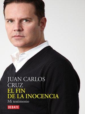 cover image of El fin de la inocencia