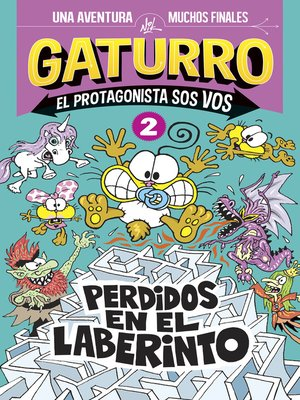 cover image of Gaturro. Perdidos en el laberinto