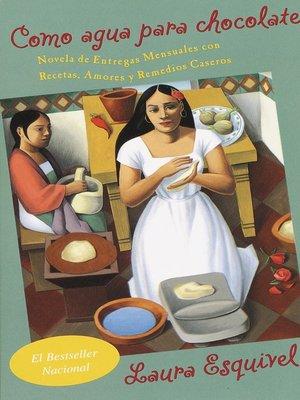 cover image of Como agua para chocolate