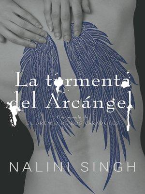 cover image of La tormenta del arcángel