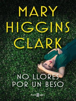 cover image of No llores por un beso