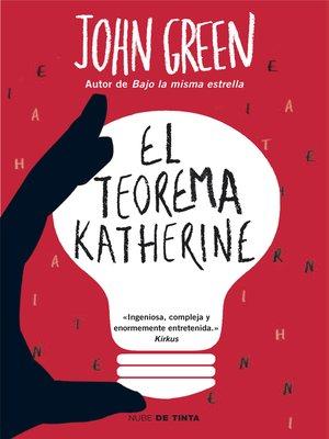 cover image of El teorema Katherine