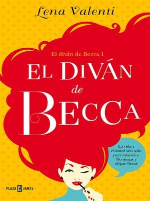 cover image of El diván de Becca (El diván de Becca 1)