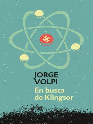 cover image of En busca de Klingsor (Trilogía del siglo XX 1)