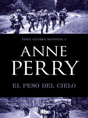 cover image of El peso del cielo
