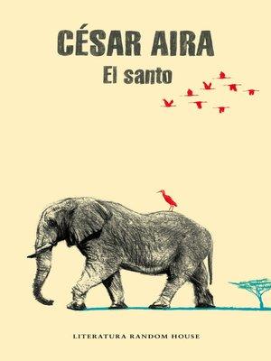 cover image of El santo