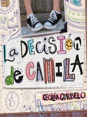 cover image of La decisión de Camila