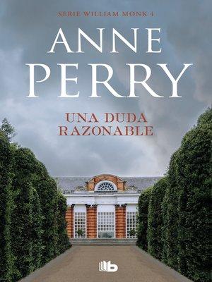 cover image of Una duda razonable