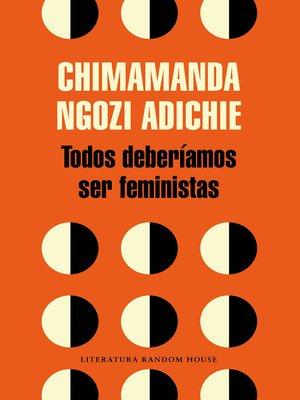 cover image of Todos deberíamos ser feministas