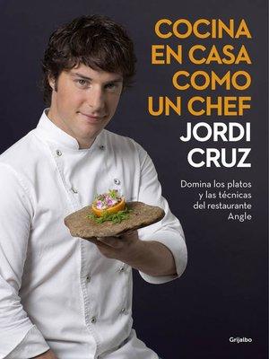 cover image of Cocina en casa como un chef