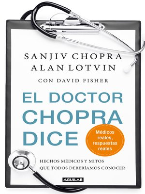 cover image of El doctor Chopra dice