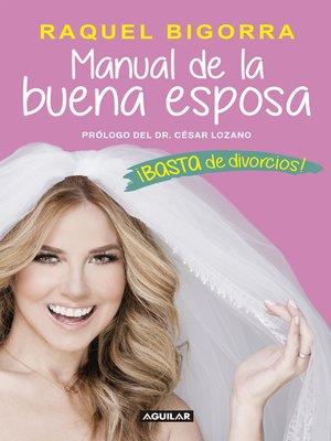 cover image of Manual de la buena esposa