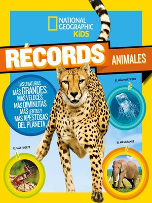 cover image of Récords animales