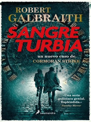 cover image of Sangre turbia